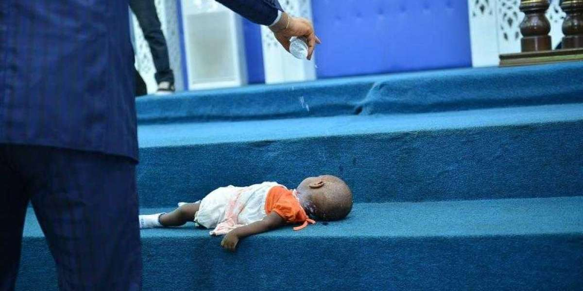 DEAD BABY PRAYED BACK TO LIFE AT THE LIBERATION CITY CHURCH