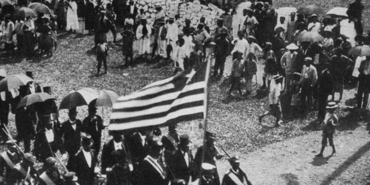 Creation Of Liberia - Remember When American Africans Repatriated To Africa